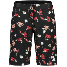 Maloja AnemonaM. Printed Short multisport Femme, moonless poppy cloud